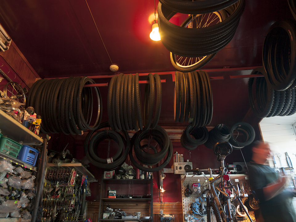 Fahrradladen in Snipiskes